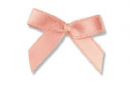 Peach Ribbon Bows - Pkt 50